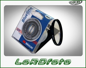 Filtr UV BRAUN PhotoTechnik seria Blueline 58 mm