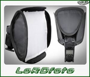 COMMLITE softbox 23x23 na lampy reporterskie